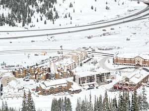 English: The East Village at Copper Mountain, ...