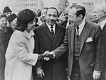 Coretta Scott King and Martin Luther King and Robert F. Wagner NYWTS.jpg