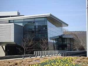 Harrison & Abramovitz - Image: Corning Museum of Glass Exterior