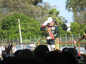 Tonga - King George Tupou V during his coronation on 2 August 2008