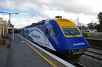 Riverina - Junee railway station is a junction for the Melbourne XPT passenger service