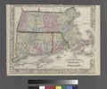 County map of Massachusetts, Connecticut, and Rhode Island. NYPL1510799.tiff