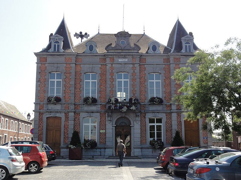 Cousolre (Nord, Fr) mairie