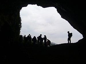 Cova del Vidre - Casetes Velles.JPG