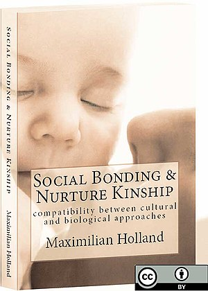 Social Bonding and Nurture Kinship - Cover showing an abstract human care-giving relationship