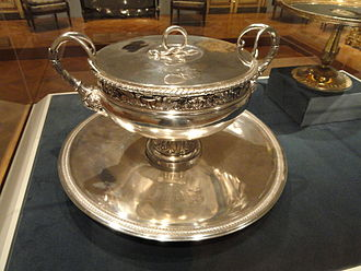 Henri Auguste - Covered Tureen with Tray, 1798-1809, by Henri Auguste