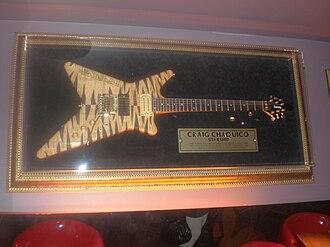 Kiesel Guitars - Carvin Guitar's model V220, custom built for Craig Chaquico of Jefferson Starship