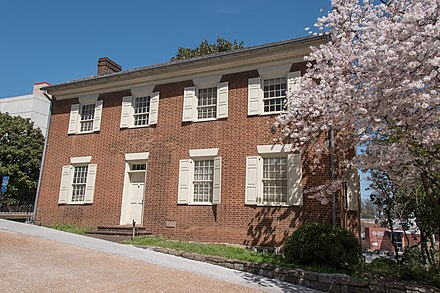 The Craighead-Jackson House in Knoxville, built in 1818 Craighead-Jackson House 01.jpg
