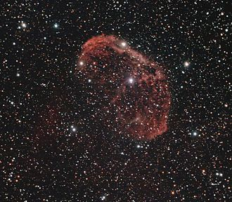 Wolf–Rayet star - WR 136 is a WN6 star where the atmosphere shed during the red supergiant phase has been shocked by the hot fast WR winds to form a visible bubble nebula