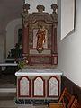 Creyssensac-et-Pissot église Creyssensac autel sud.JPG