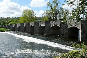 Crickhowell Bridge - Crickhowell Bridge
