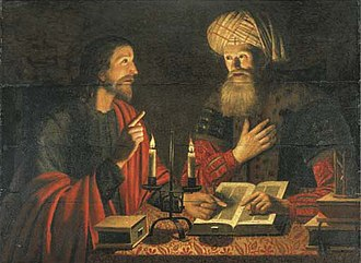 O heilges Geist- und Wasserbad, BWV 165 - Jesus teaches Nicodemus (seen here in a seventeenth-century painting) was a theme used by both composers and artists.