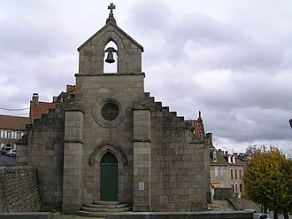 Crocq - The Chapel of the Visitation, in Crocq