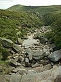 Crowden Brook at the edge of Kinder plateau - geograph.org.uk - 267606.jpg