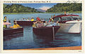Cruising party on Fontana Lake, Fontana Dam, N. C. (5812055466).jpg