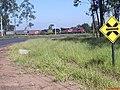 Cruzamento da Ferrovia - Bueno de Andrada - Rodovia municipal Matão-Araraquara - panoramio.jpg