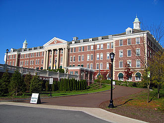 The Culinary Institute of America - Roth Hall, the primary facility at the school's main campus