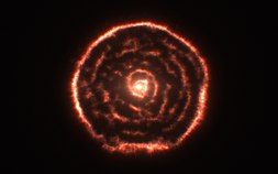 Curious spiral spotted by ALMA around red giant star R Sculptoris (data visualisation).jpg