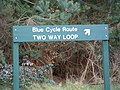 Cycle Sign - geograph.org.uk - 341502.jpg
