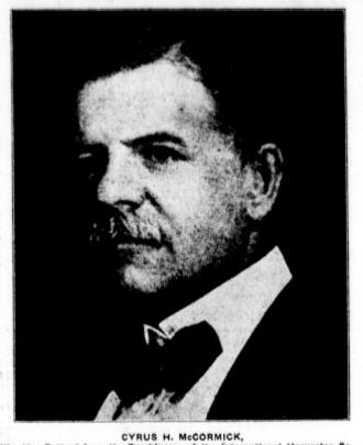 Cyrus McCormick Jr. - Cyrus Hall McCormick Jr.