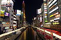 Dōtonbori River Night view 201407.jpg