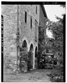 DETAIL VIEW OF STONE WORK - Andorra Inn Barn, Ridge and Butler Pikes, Conshohocken, Montgomery County, PA HABS PA,46-CONSH.V,1A-5.tif
