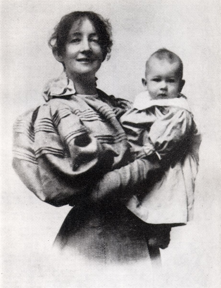 Dagny Juel with her son Zenon