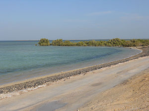 Dakhira Beach, Qatar