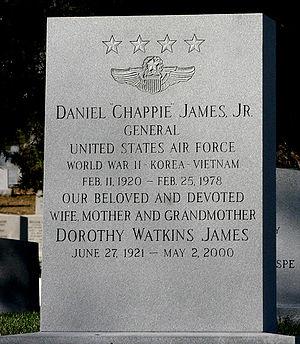 Daniel James Jr. - Arlington National Cemetery