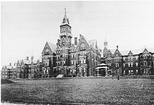 Danvers State Hospital around 1893
