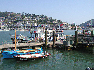 Dartmouth Harbour Natural harbour on the River Dart in Devon, England