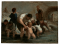 Daumier - Kinder beim Baden, um 1855.png