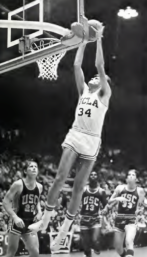 Dave Meyers (basketball) - Meyers with UCLA in 1972–73