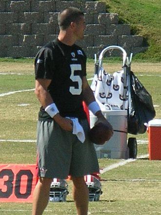 David Carr (American football) - Carr in 2010