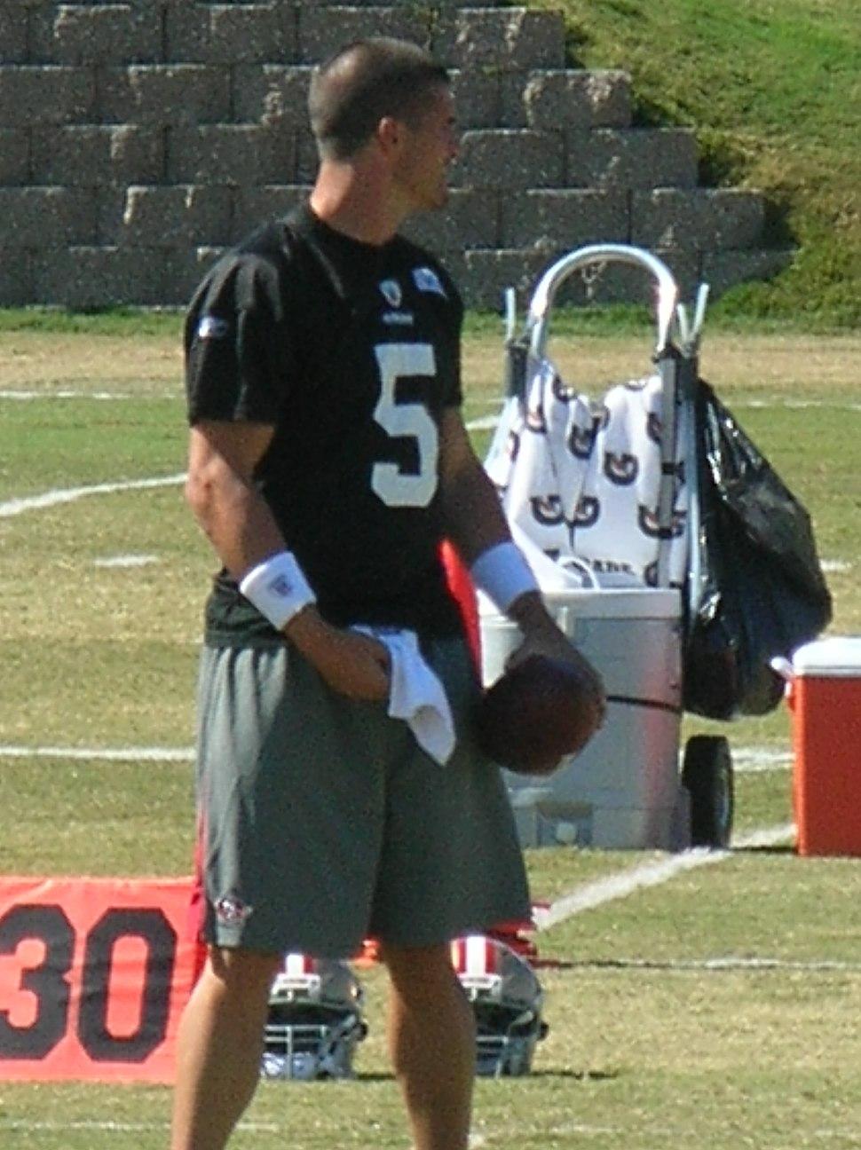David Carr at 49ers training camp 2010-08-11 1