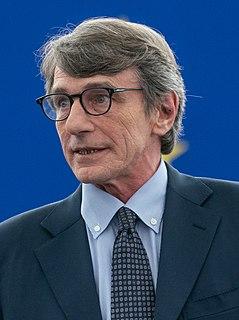 David Sassoli Italian politician and journalist