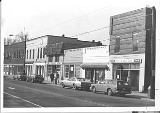 Davidson Historic District - Davidson Historic District around 1970