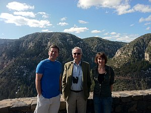 Faye Flam - Flam hiking with Richard Dawkins and Sean Faircloth.