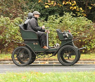 H. J. Mulliner & Co. - Double phaeton body 1900 on a 3½hp De Dion-Bouton chassis
