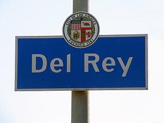 Del Rey, Los Angeles Neighborhood of Los Angeles in California, United States of America