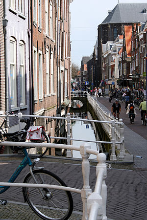 Gracht - Example of half a gracht