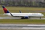 Delta Air Lines, N1602, Boeing 767-332 ER (33059522435) (2).jpg