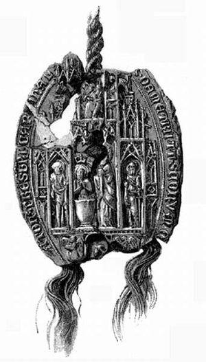 Demetrius of Esztergom - Seal of Archbishop Demetrius