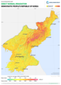 Democratic-Peoples-Republic-of-Korea DNI Solar-resource-map GlobalSolarAtlas World-Bank-Esmap-Solargis.png
