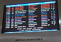 Departure board at Chicago Union Station, August 2015.jpg