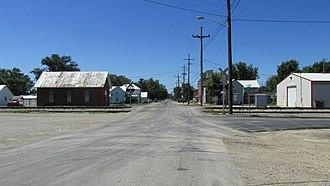 Darby Township, Pickaway County, Ohio - Scene in Derby
