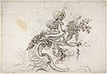 Design for a Ceiling Decoration (recto); Daphne Pursued by Apollo (verso) MET DP809476.jpg