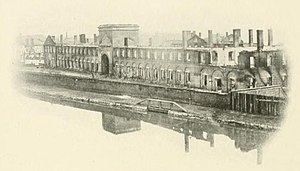 Virginia Manufactory of Arms - Ruins of the Richmond Arsenal following its destruction in April 1865