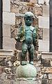Detail fontaine Fischmarkt, Aix-la-Chapelle, Allemagne.jpg