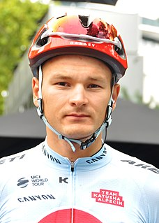 Dmitry Strakhov Russian cyclist